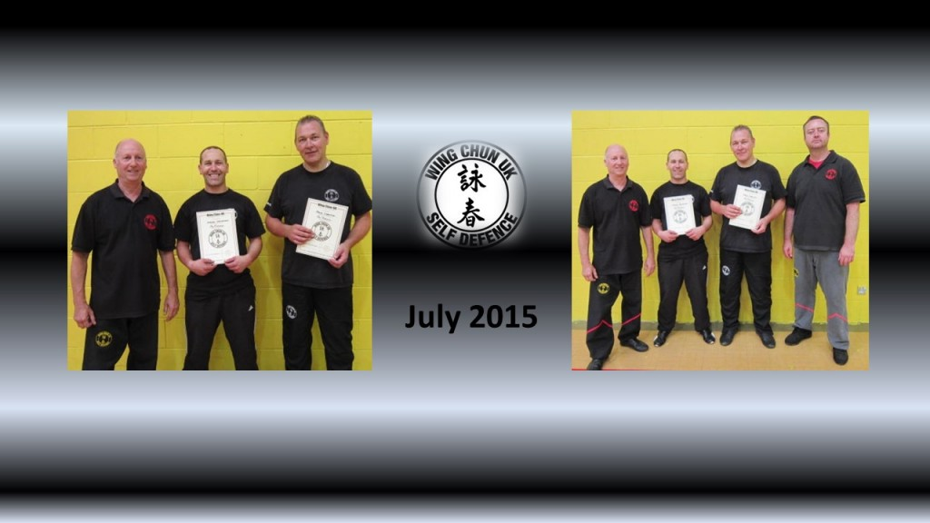 Pre Primary Grading July 2015