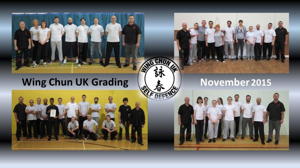 November 2015 Grading