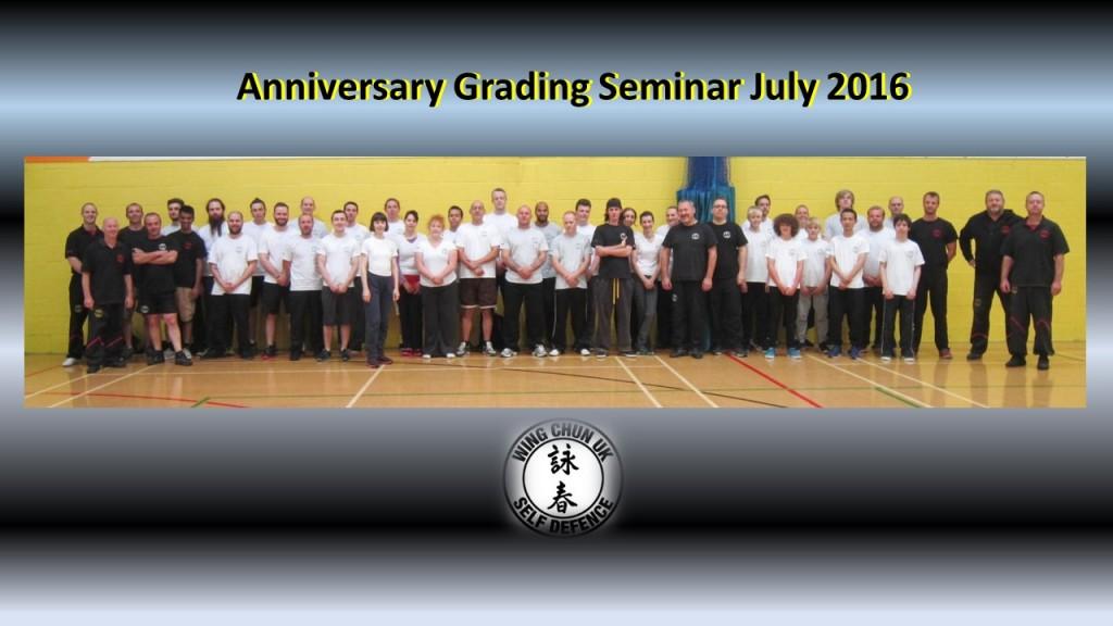 Anniversary grading 2016