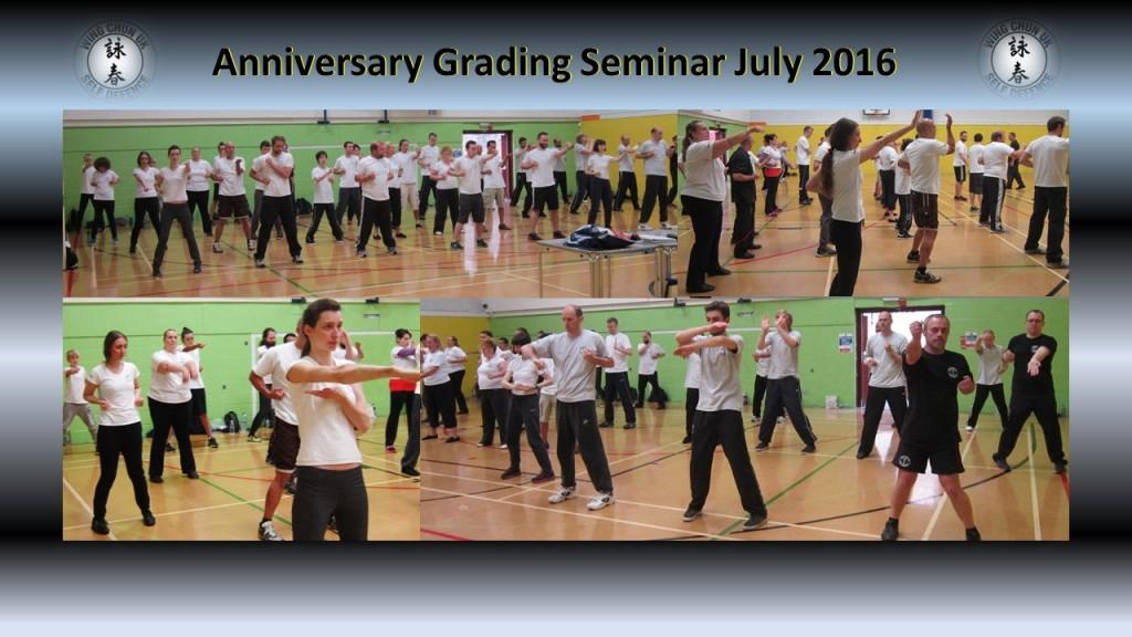 Anniversary grading 2016 2