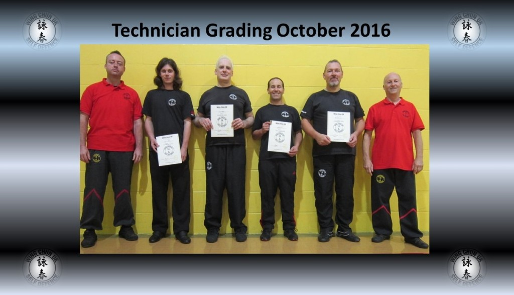 Technician grading 2016