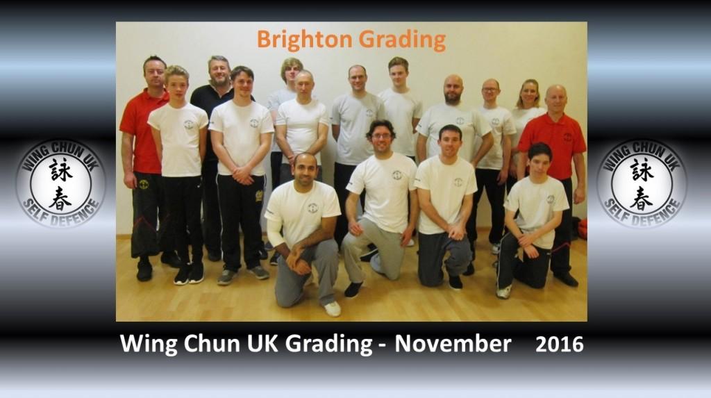 November 2016 Brighton Grading